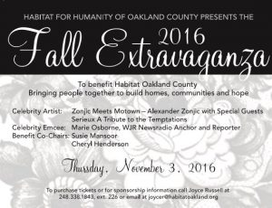 Fall Extravaganza Save the Date