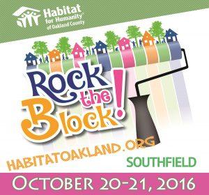 Rock the Block - Volunteers Needed
