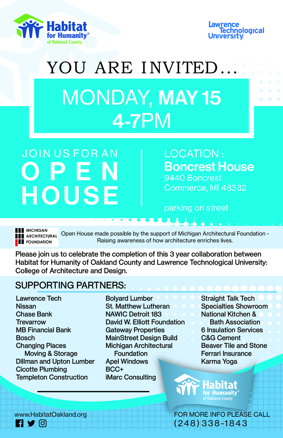 Boncrest Open House
