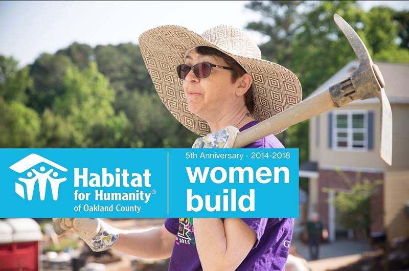 2018 Women Build Groundbreaking Event